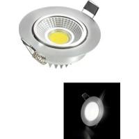 Taled 5 Watt Cob LED Spot Armatür Krom Kasa Trafolu LED Spot Aydınlatma