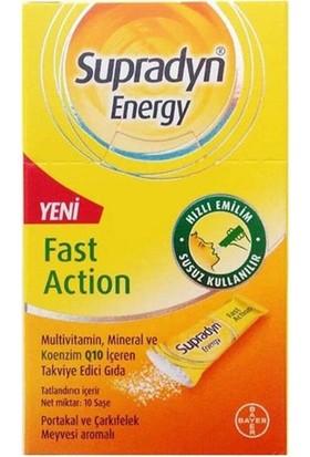 Supradyn Energy Koenzim Q10 Takviye Edici Gıda 10 Saşe
