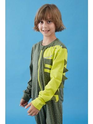 Penti Erkek Çocuk Dinosaur Shepherd Tulum