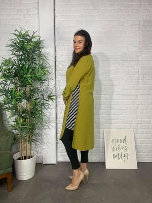 Roxxlen Kadın Yeşil Büyük Beden Tunik - 4456
