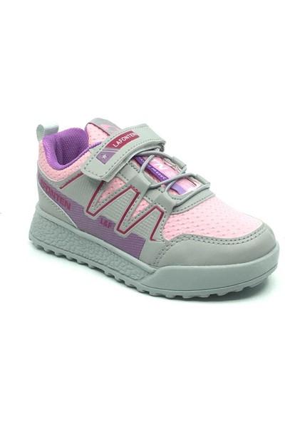 Lafonten Rahat Günlük Mevsimlik Çocuk Spor Ayakkabı 26-35 27 Buz Pembe