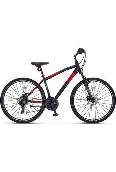 Ümit Bisiklet Ümit Quebec 28 Jant M-2disk 46 Erkek Şehir Bisikleti Siyah-Kırmızı