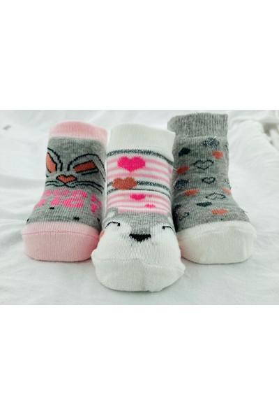 Simli Kalpler Bebek Çorabı (Yeni Sezon) 1840-12 (3ADET)