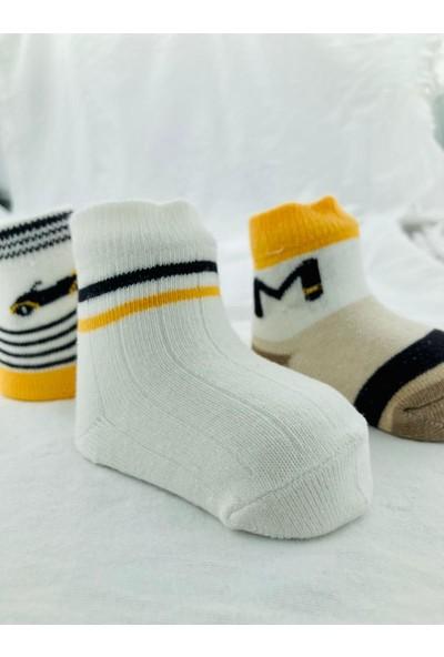 M Taksi Bebek Çorabı (Yeni Sezon) 1843-12 (3ADET)