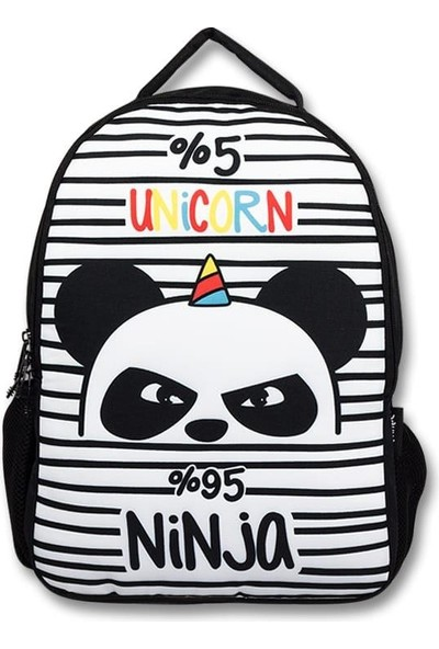 Master Pack Cennec Panda Baskılı Sırt Çantası