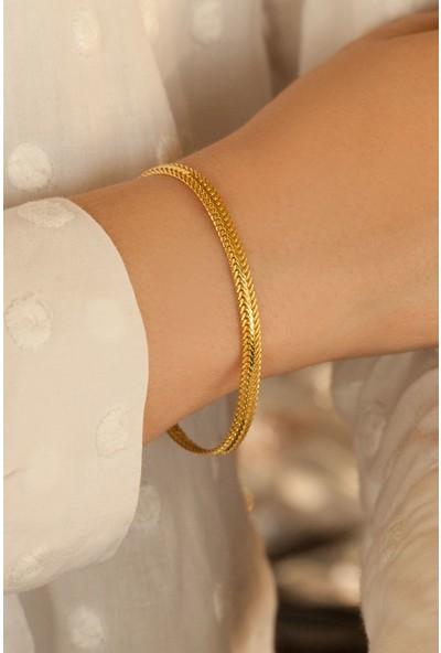 Sette WRSCZ103581 Hasır Gold Bileklik