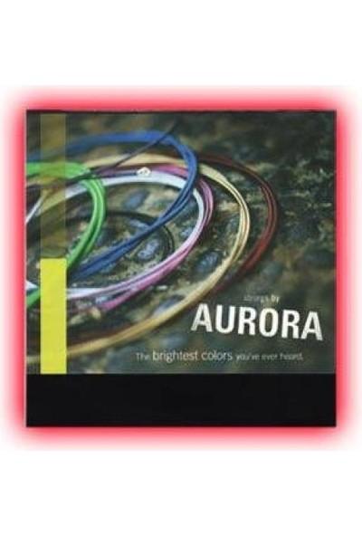 Aurora Saz (20,30) Kırmızı Uzun Sap Bağlama Teli