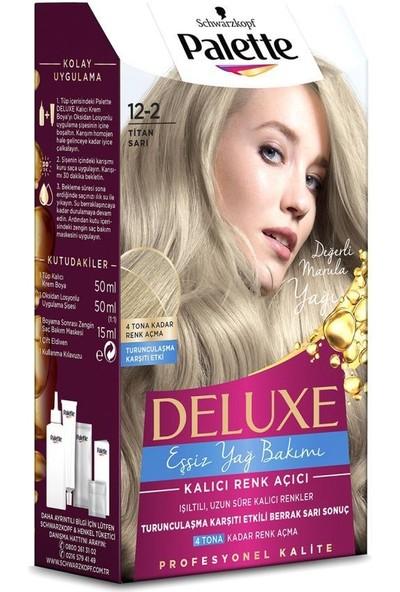 Palette Deluxe 12-2 TİTAN SARI