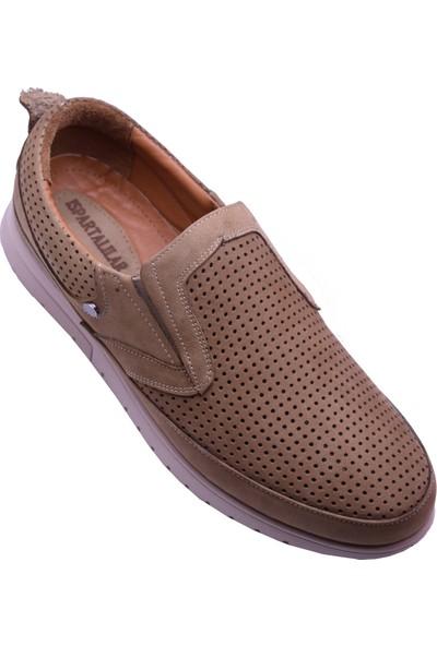 Ayakkabı Burada Ayakkabiburada 2020-46 Ortopedi Hakiki Deri Günlük Erkek Ayakkabı