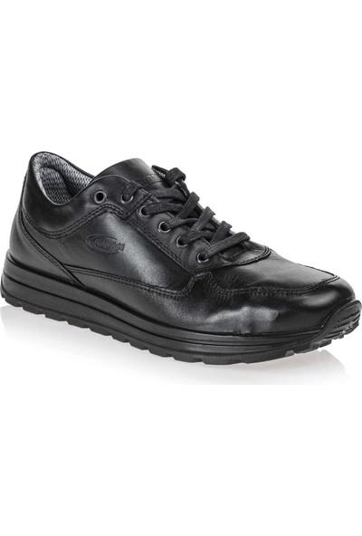 Scooter Su Geçirmez Deri Siyah Erkek Günlük Ayakkabı M5661DS