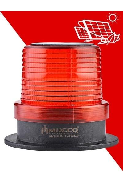 Mucco 90 mm Güneş Enerjili Tepe Lambası SNT-915-SL Sarı