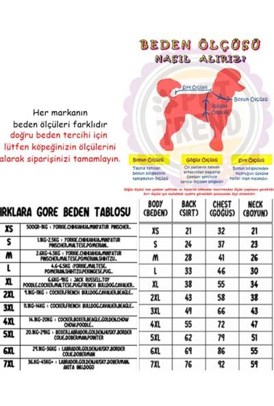 Pawstar Somon Yıldız Penye Tulum Kedi Köpek Tulumu Kedi Köpek Kıyafeti M