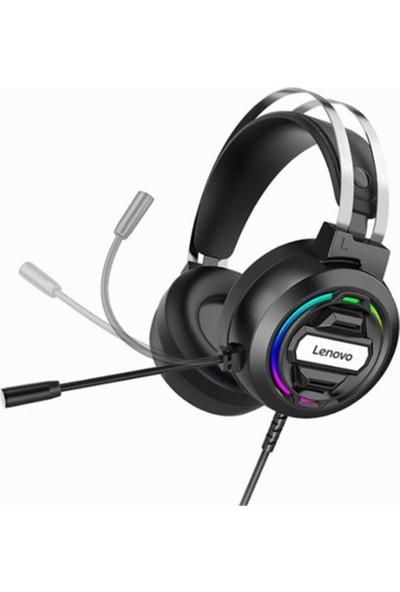 Lenovo H401 Mikrofonlu Işıklı Mikrofonlu Gaming Mobil / Ps4 / Xbox/ Pc Oyuncu Kulaklık