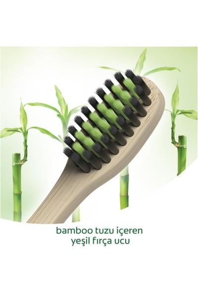 Colgate Bamboo Charcoal Yumuşak Diş Fırçası x 2 Adet + Fırça Kabı Hediye