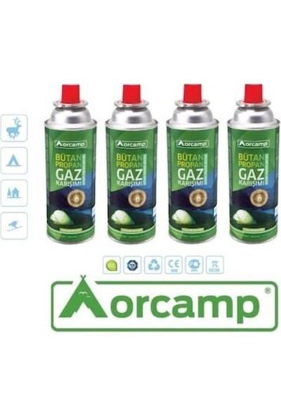 Orcamp Orgaz Valfli Gaz Kartuş 227GR 4'lü Tüp - Kts 227