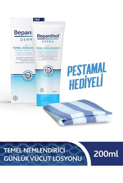 Bepanthol Derma Temel Nemlendirici Losyon 200 ml + Peştamal