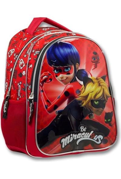 Master Pack Miraculous Lisanslı Lady Bug Okul Sırt Çantası