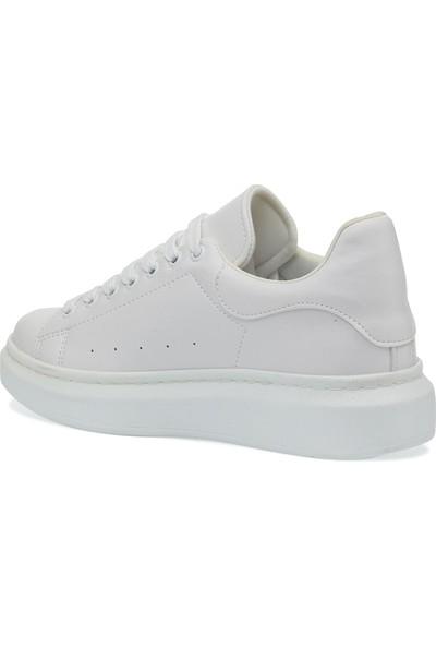 Butigo Petr 1pr Beyaz Kadın Havuz Taban Sneaker