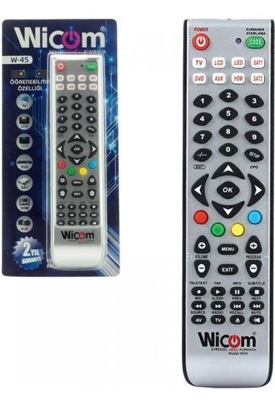 Wicom Öğrenebilme Özellikli Universal LCD Uydu