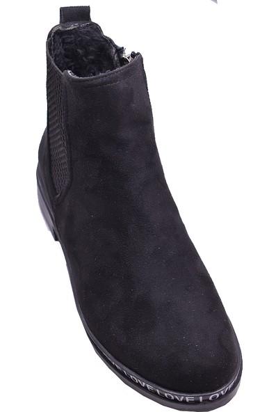 Ayakkabı Burada 501 Suya Dayanıklı Günlük Kadın Bot Ayakkabı
