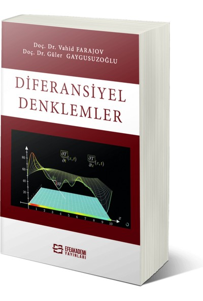 Efe Akademi Yayınları Diferansiyel Denklemler - Vahid Farajov – Güler Gaygusuzoğlu
