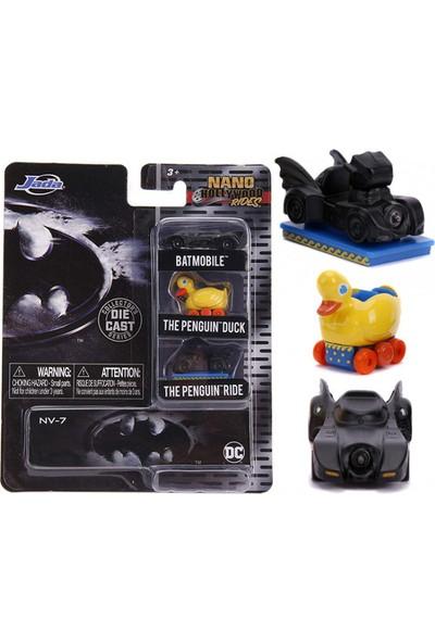 Jada Toys Dc Batman Dıecast Batmobıle 3'lü Paket