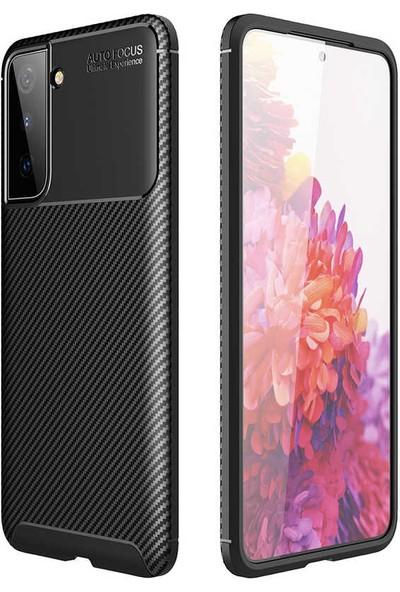 Ceponya Galaxy S21 Plus Kılıf Elde Kaymayan Kamera Korumalı Kılıf