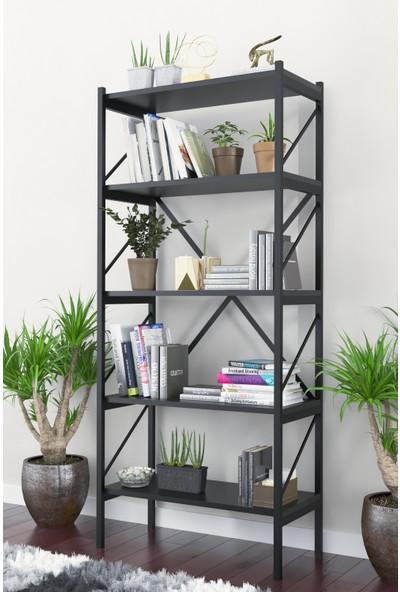 Evdemo Eko Kitaplık Siyah