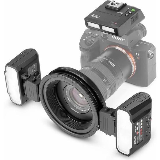 Meike MK-MT24S Macro Twin Light Flaş (Sony)
