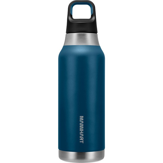 Mannhart By Spigen B213 Sızdırmaz Vakumlu Çift Katmanlı Travel Mug Paslanmaz Çelik Termos 500 ml Hot 6h / Cold 24H Blue-Very - AHP00352