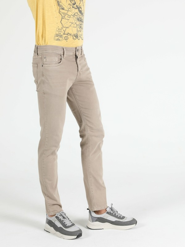 Colin's Straight Fit Orta Bel Düz Paça Erkek Camel Pantolon