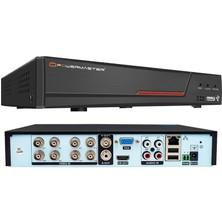 Powermaster 6in1 8kanal 5mp Dvr Kayıt Cihazı H265