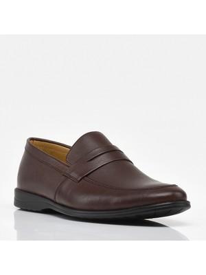 Hotiç 02AYH207040A480 Kahve Erkek Ayakkabı