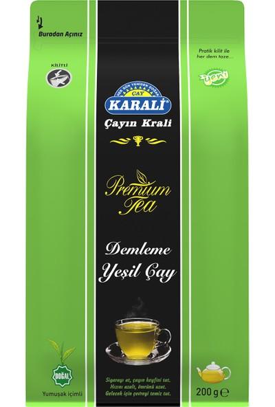 Karali Çay Premium Dökme Yeşil Çay 200 gr