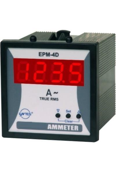 Entes Epm-4d 72X72 Ampermetre Entes