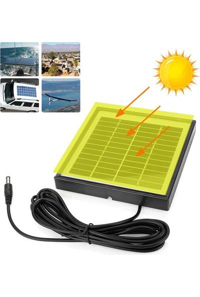 Xyanling 5W 12V 3m Kablolu Solar Panel Güneş Enerjisi Sistemleri Acil Durum Lambaları, Elektrikli Fanlar, Gözetleme Kameraları, Güneş Enerjili Su Pompaları Için Uygun Polysilicon