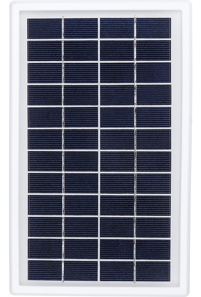 Xyanling 5W 12V 3m Kablolu Solar Panel Güneş Enerjisi Sistemleri Polisilikon Acil Durum Lambaları, Elektrikli Fanlar Için Uygun