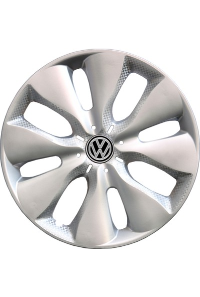 Kadiroğlu Volkswagen Caddy 15'' Inç Uyumlu Jant Kapağı 4 Adet 1 Takım 2014 Kırılmaz