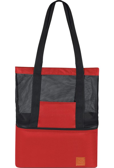 Box&box 16+22 Lt Thermo Bag - Termal Korumalı (Sıcak/soğuk) Seyahat, Kamp, Piknik ve Plaj Çantası