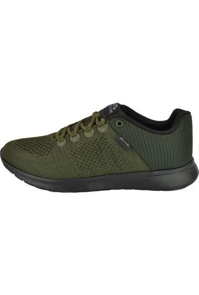 Active Erkek Spor Ayakkabı R104-HAKİ