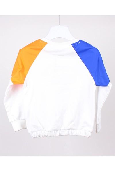 Jack Lions Jacklions Erkek Çocuk Omuzları Renkli Sweatshirt