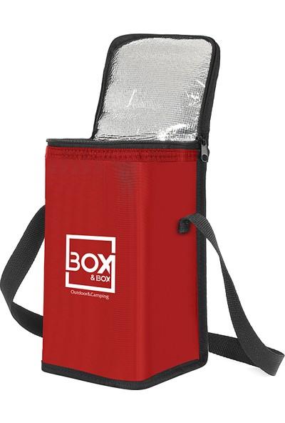 Box&box 6 Lt Thermo Bag - Termal Korumalı (Sıcak/soğuk) Seyahat, Kamp ve Piknik Çantası