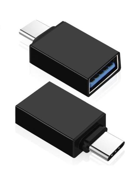 Brs USB Type-C Yi Usb3.0 A Dönüştürür Otg Çevirici Dönüştürücü