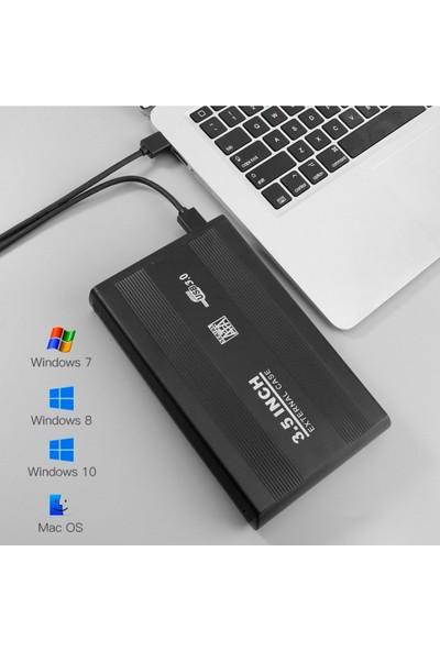 """Brs 3.5"""" Sata USB 3.0 Harici Alüminyum Harddisk Kutusu"""
