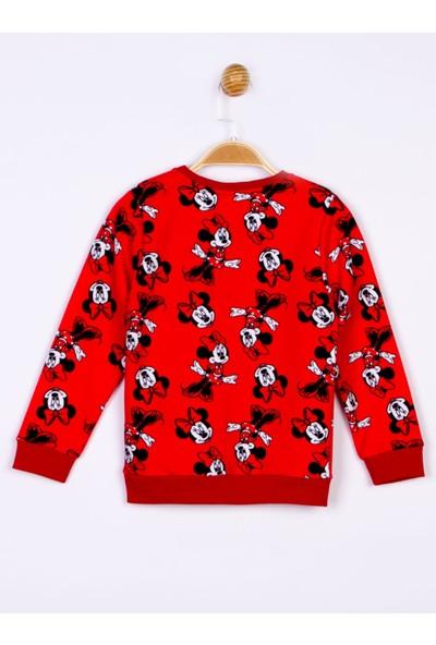 Minnie Mouse Lisanslı Çocuk Sweatshirt 18412
