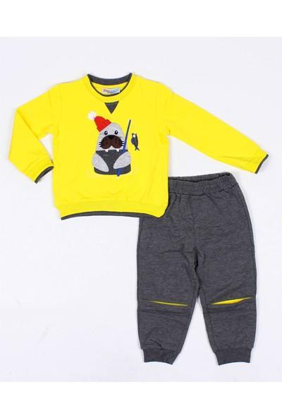 Mackays Erkek Bebek Dizleri Körüklü Eşofman Takım