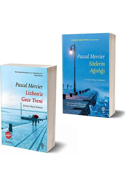 Sia Kitap Pascal Mercier Seti