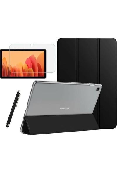 Fibaks Samsung Galaxy Tab A7 Sm T500 T505 T507 + Ekran Koruyucu + Kalem Smart Kapak Tablet Kılıfı 10.4 Inç