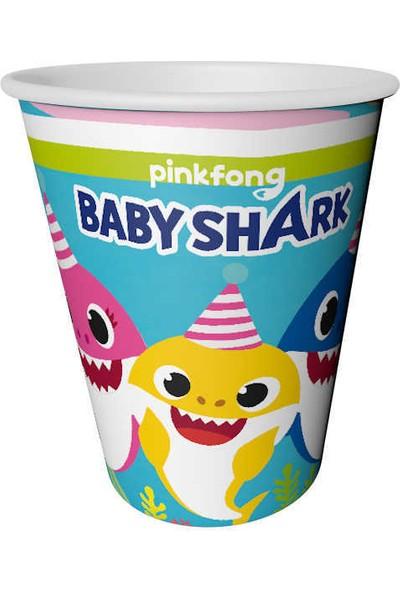 Elite Time Baby Shark Bardak 220/240CC Pk:8 Kl:54
