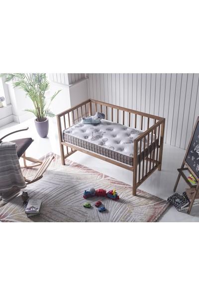 Bera Yatak Bamboo Süngerli Bebek Yatağı